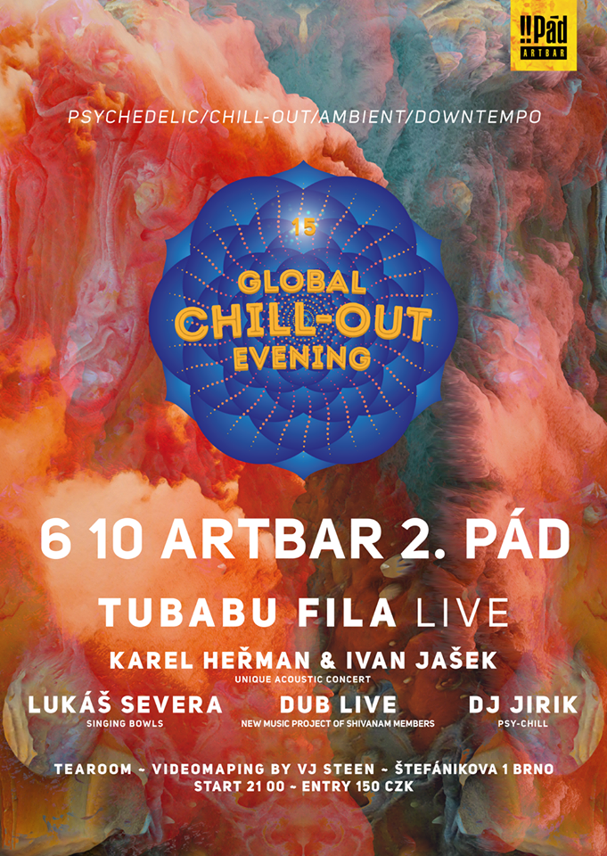 Global Chill-Out Evening 15.