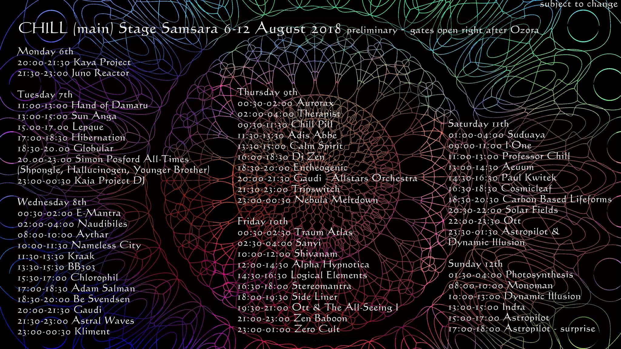 Shivanam Live concert and I-ONE Live set to Samsara festival (Hungaria)
